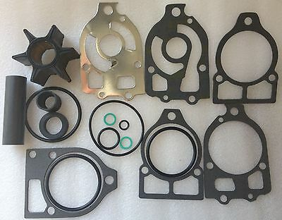 Mercury V6 Outboard Water Pump Impeller & Gasket Kit 46-96148A5 O Rings & Plates