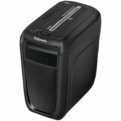 Fellowes 60Cs Cross Cut Paper & Credit Card Shredder Medium Duty 10 Sheets