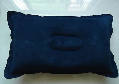 Inflatable Soft Pillow Travel Camping Comfortable Cushion Neck Portable Compact