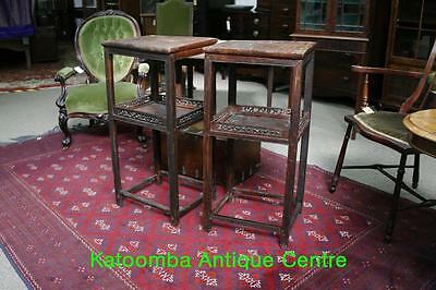 Pair of Antique Chinese Side Tables
