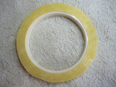 12mm*66m Yell High Temp Resistant Insulation Adhesive Tape Transformer Coil Wrap