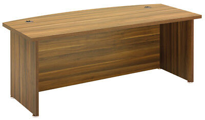 Regent Bow Fronted Executive Desk
