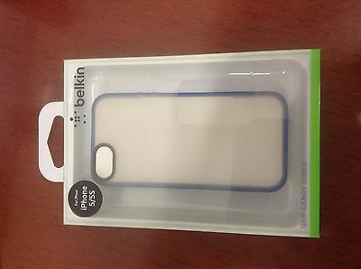 Belkin Grip Candy Sheer Case For iPhone 5 and 5S (Blue and Smoke)