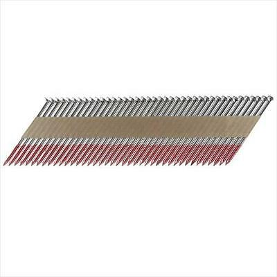 3-Inch x .120 Offset Round Head 33 Deg  HDG Ring Framing Nails (500 Count)