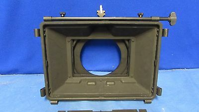 Chrosziel SD412 Wide Angle Sunshade/Matte Box w/ S16 410-29 French Flag &Flanges