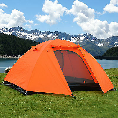 Gazelle Outdoors 2 Person Waterproof Camping Hiking Backpacking Tent w Rainfly