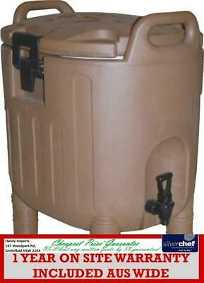 Fed Commercial Insulated Food Container Carrier With Spigot Hot Cold Cpwk035-21