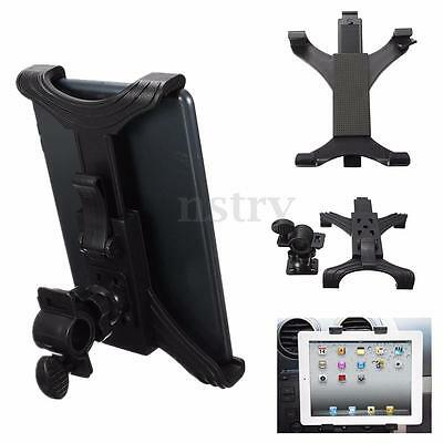Adjustable Music Microphone Mic Stand Clamp Mount Holder Cradle for 7''-10'' Tab