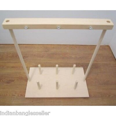 Bobbins Holder Rack Stand - Warping - Weaving Loom