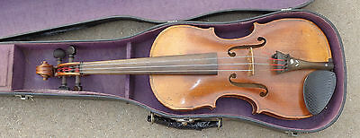 antique  full size  violin in case  ready to play
