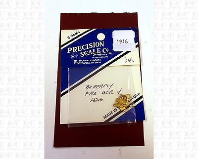 Precision Scale S Brass Parts: Butterfly Fire Door With Pedal 1918
