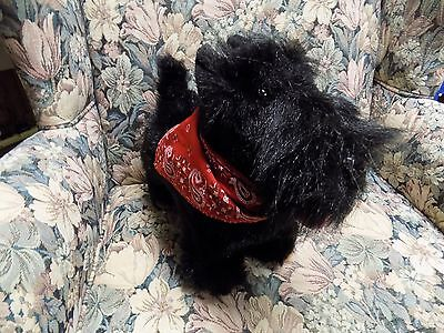 Scottie Dog By Thistle With Red Bandana Dog Is From Scotland 12 Inches Long
