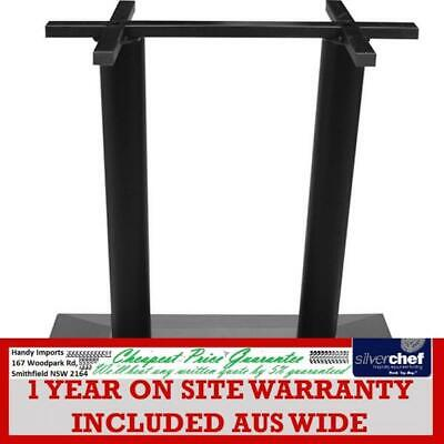 Fed Commercial Rectangle Black Hdc Table Base Restaurant Cafe 720H 8026-2