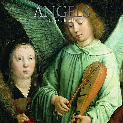 Angels 2017 Wall Calendar NEW by the Gifted Stationery