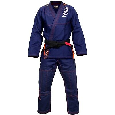 Venum Challenger 3.0 BJJ Gi (Navy/Orange)