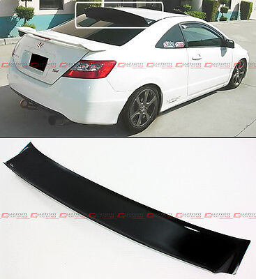 06-11 Fg 8Th Honda Civic 2Dr Coupe Si Jdm Rear Roof Window Visor Spoiler By Hic