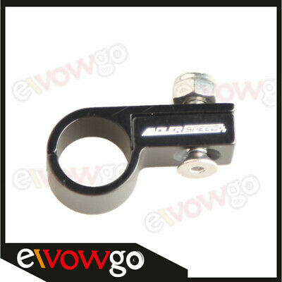 -6AN AN6 6AN Line Clamp ( ID 14.3MM ) Hose Clamp Aluminum Black