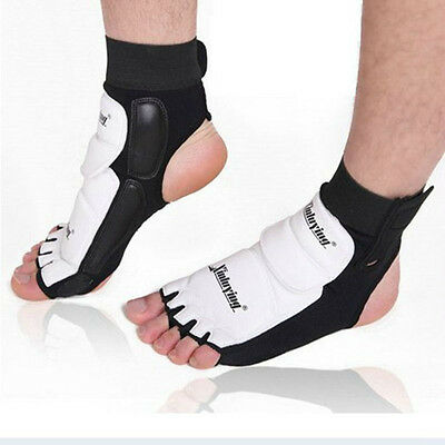 1pair Ankle Brace Support Pad Guard MMA Foot Muay Thai Boxing Gym Sport