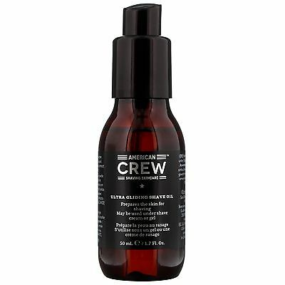 American Crew Shave Ultra Gliding Oil 50ml for him BRAND NEW
