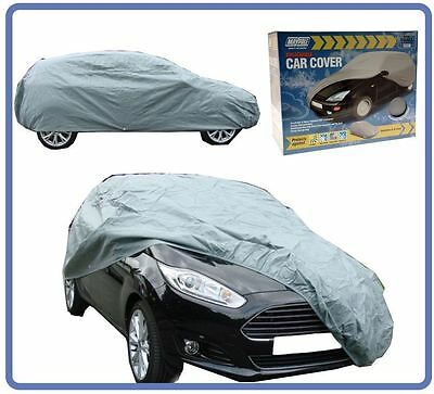 Small All Weather Water Rain Resistant Breathable Full Car Cover Sun Protection