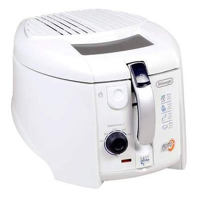 Delonghi F28311.W1 1800 Watts 1Kg 1.2L RotoFry Fryer - New - Free Shipping