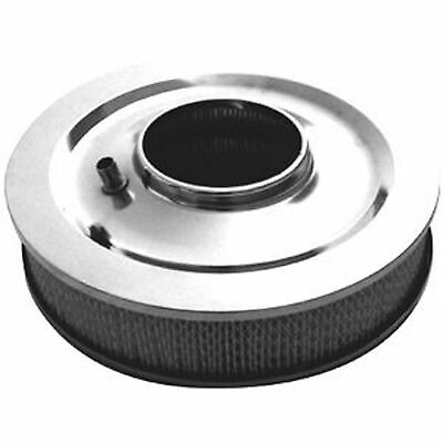 """Rpc - Racing Power Co R3196 Air Cleaner Stainless 14""""x3"""" Round Muscle Car"""