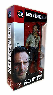 "AMC WALKING DEAD Rick Grimes 7""  Action Figur McFarlane 17cm"