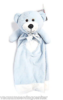 EB Embroider Buddy Blue Bear 20 Inch Blankey