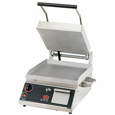 Star Pro-Max GR14B Smooth 2-Sided Sandwich Grill - 120V - REDUCED