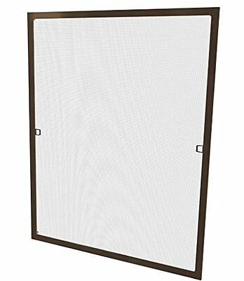 Windhager Insect Screen for Windows, Brown, 80 x 100 CM