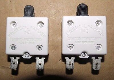 Mechanical Products 3 Amp Boat Breakers - Black - Push To Reset #1681-104-300