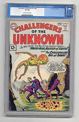 Challengers of the Unknown #24 CGC VF 8.0