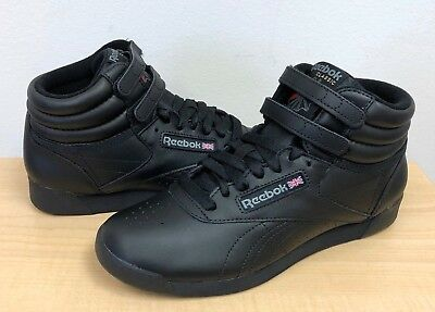 WOMENS REEBOK FREESTYLE HI FITNESS 71 Black