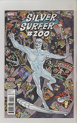 Marvel Comics Silver Surfer #6 / #200 October 2016 1St Print Nm