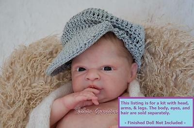 "NEW RELEASE! Reborn ~ Baby Frankie ~ 18.5"" Doll Parts Kit by Denise Pratt 5414"