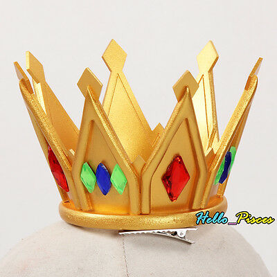 Exclusive Made Anime No Game No Life White Shiro Imperial Crown PVC Cosplay Prop