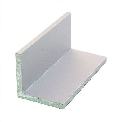 """1 mm Thick 6061 Aluminum Angle 3"""" x 3"""" x 12"""""""