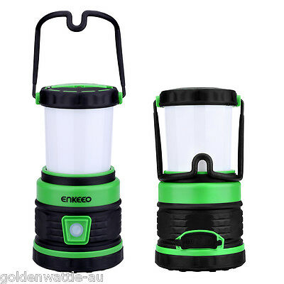Portable LED Camping Tent Lantern Lamp Fishing Light USB Power Bank Rechargeable