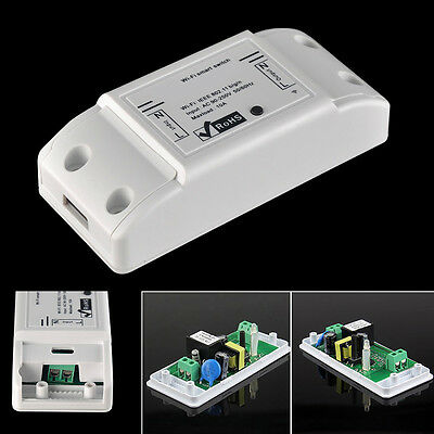 1*Useful DIY Home Remote Control Wireless WiFi Smart Switch For IOS/Android LU