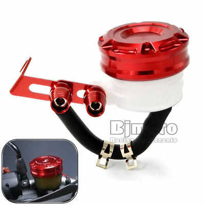 Motorcycle Oil Cylinders Reservoir Front Brake Clutch Tank Fluid Cup For Yamaha