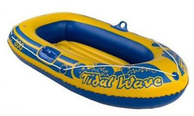 "Kids 56"" Rubber Boat Dinghy Inflatable Raft Childrens Swimming Pool"