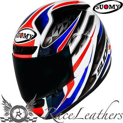 Suomy Apex France Full Face Motorcycle Motorbike Helmet