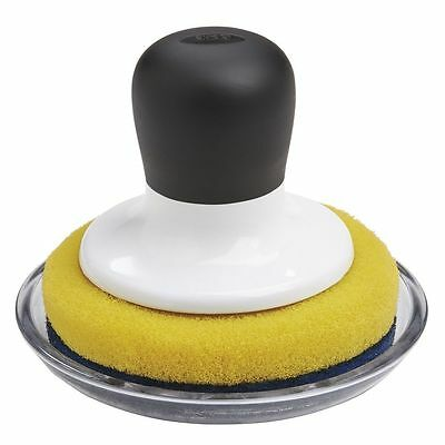 OXO Good Grips Non-Scratch Scrubber with Tray  FREE P+P