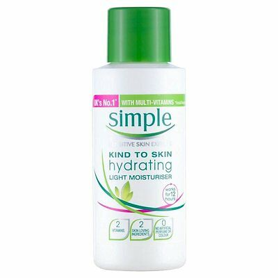 Simple Kind to Skin Hydrating Light Moisturiser (50ml) FREE UK DELIVERY