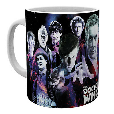 Doctor Dr Who Mug Legends BBC Ceramic Gift Fun New Official Licensed Product