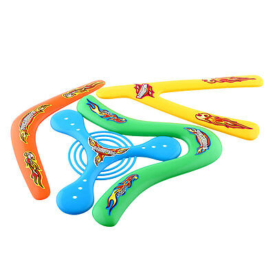 4X 4Shapes Lightweight Outdoor Returning Throwback Kids ChildrenToys Boomerang
