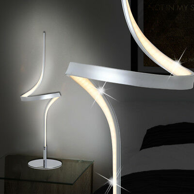 led tischlampe batterie edelstahl led tischleuchte led. Black Bedroom Furniture Sets. Home Design Ideas