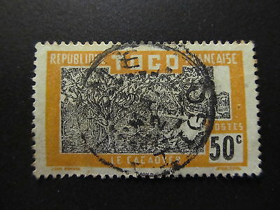 1924/38 - French Mandate - Togo - Cacao Trees - Scott 230 A7 50C