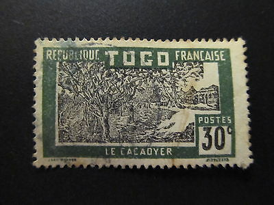 1924/38 - French Mandate - Togo - Cacao Trees - Scott 225 A7 30C