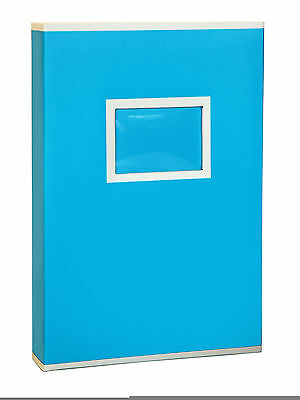 Large Blue Two Tone Memo Slip In Photo Album 300 6 x 4 Photos